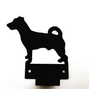 Wall Mounted Jack Russell Terrier Lead Holder