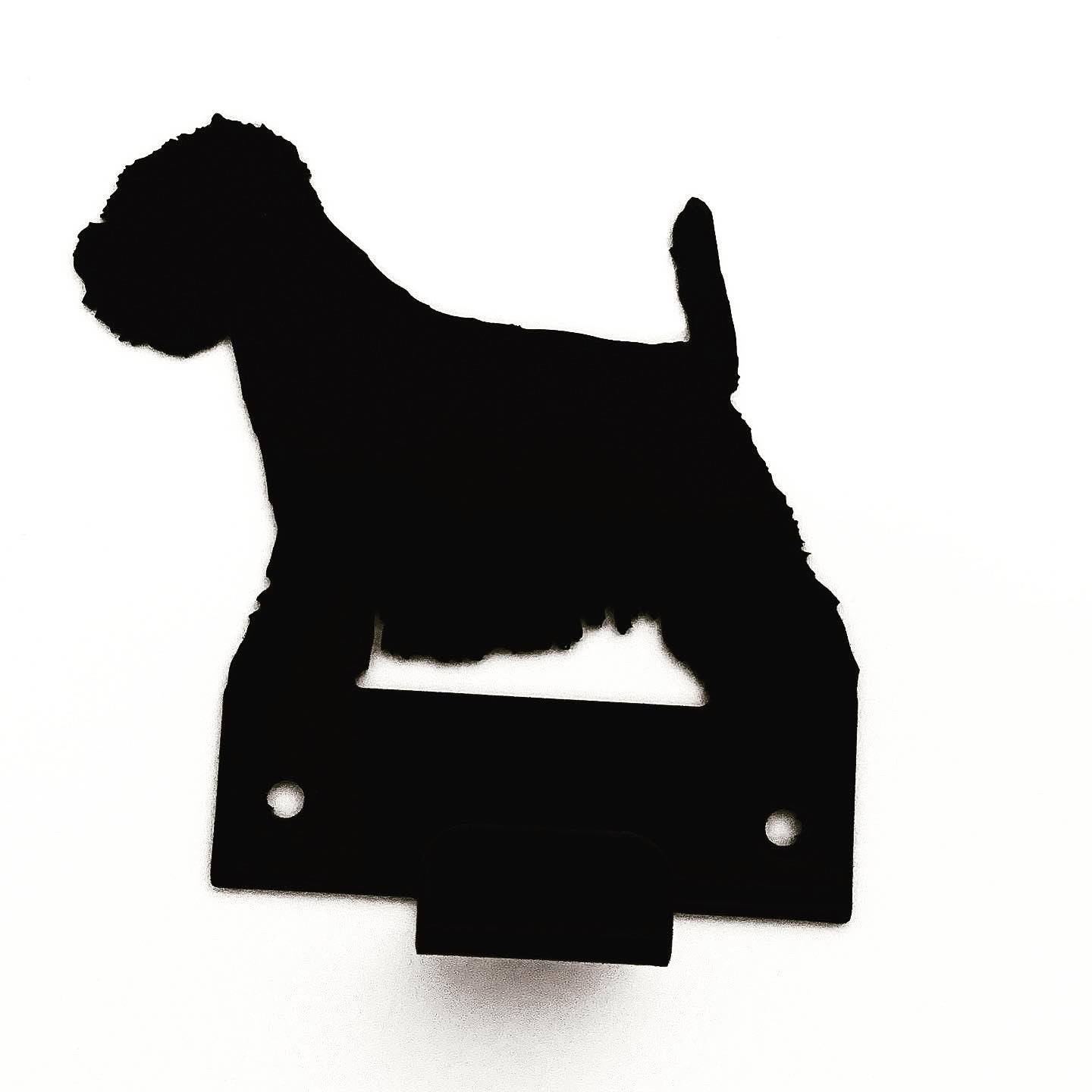 Wall Mounted West Highland White Terrier Lead Holder