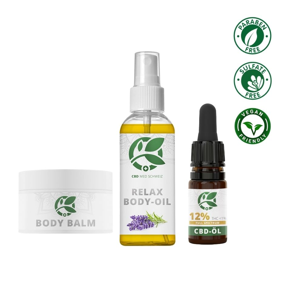 Relax n' Joy Package 🥱 - CBD MED Schweiz