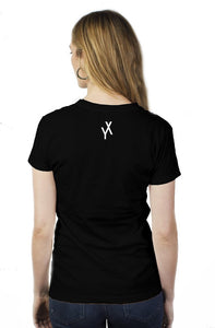 womens why not simple t(black)