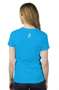 womens why not simple t(blue)