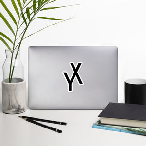 YX Logo Sticker