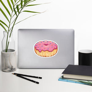 Why Not? Donut Sticker