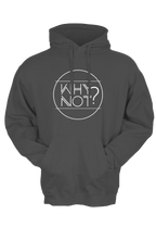 "Load image into Gallery viewer, NEW ROADS ""Why Not?"" Unisex Hoodie"