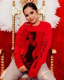Becky G Drop Shoulder Crewneck