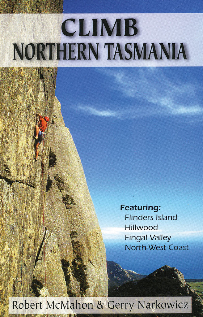 Climb Northern Tasmania Guide Cover