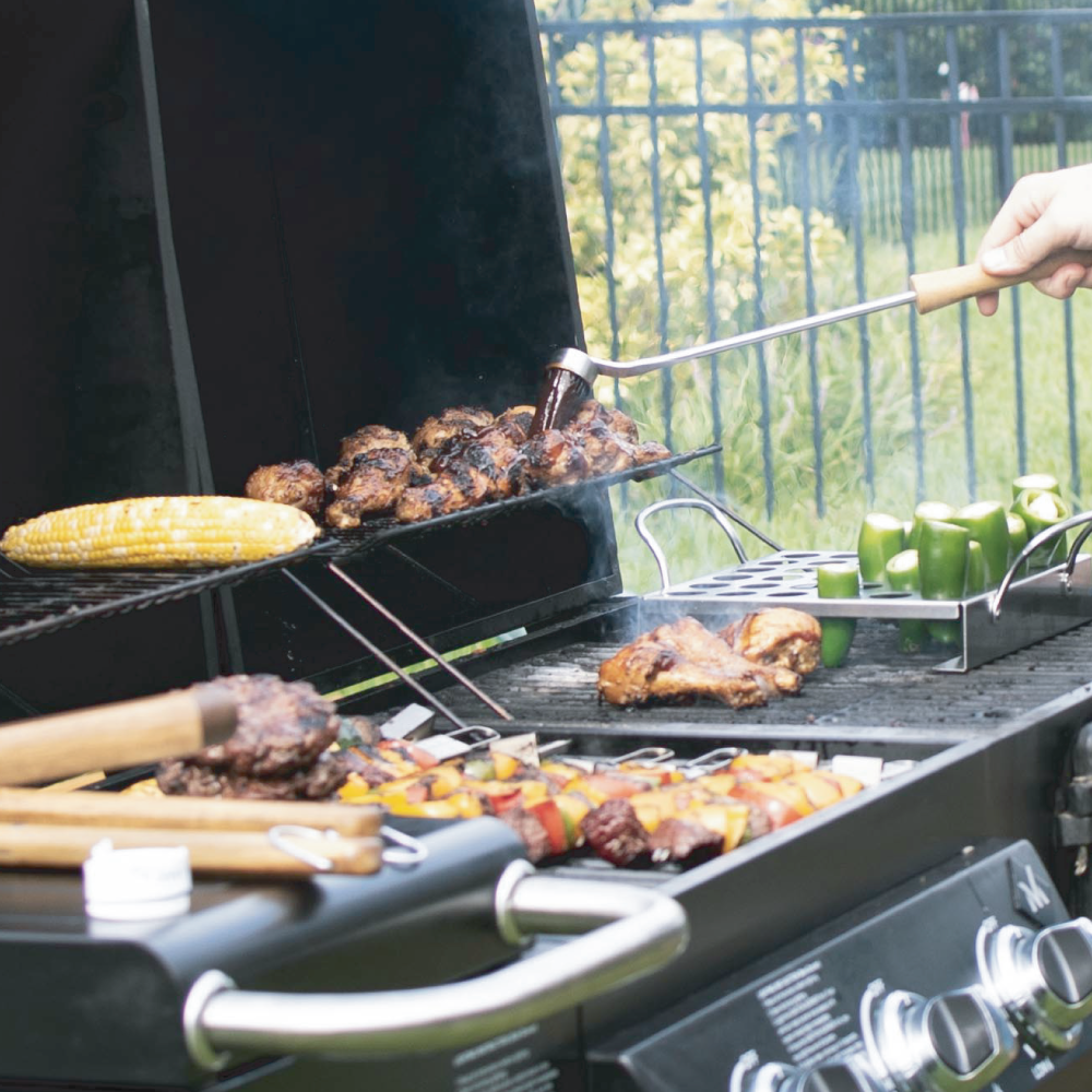 Less Cleaning. More Grilling.