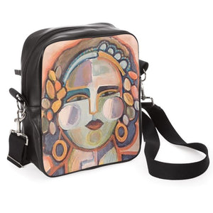 Painted Lady Messenger Bag