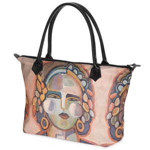 Painted Lady Tote Bag - Pink