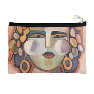 Painted Lady Zipper Pouch