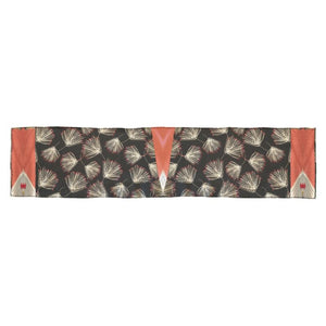 Black Thistle Oblong Scarf