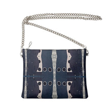 Load image into Gallery viewer, Navy Dot Crossbody Bag