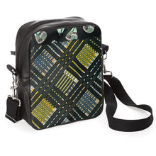 Load image into Gallery viewer, Green Plaid Messenger Bag