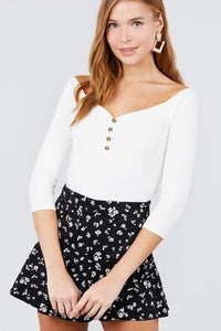 Stacy Button Down Top
