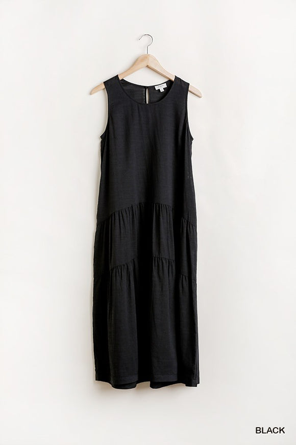 Amelia Sleeveless Maxi Dress