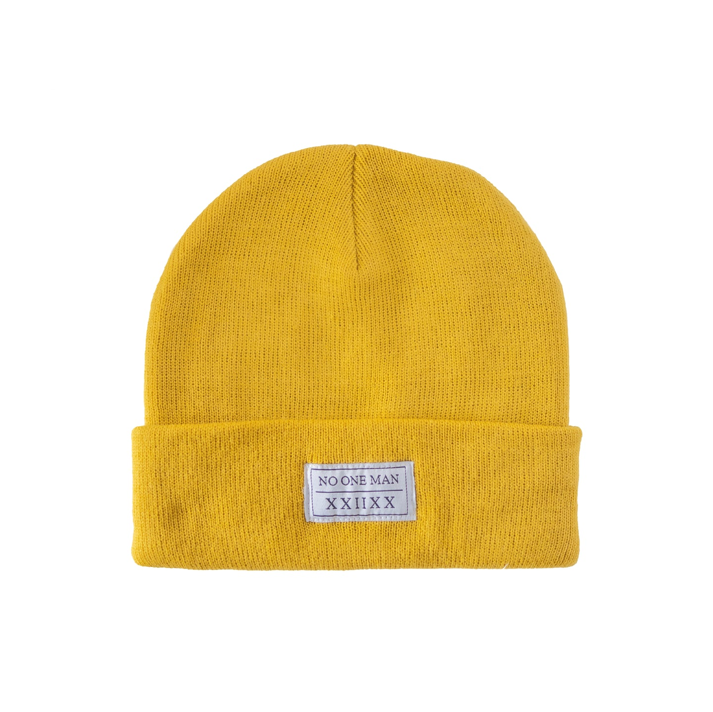 TALL YELLOW BEANIE