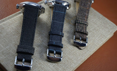 [STRAPSENSE REVIEW] Strapbandits Huddersfield Cloth Watch Straps
