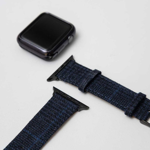 Apple Watch NAVY GLENCHECK