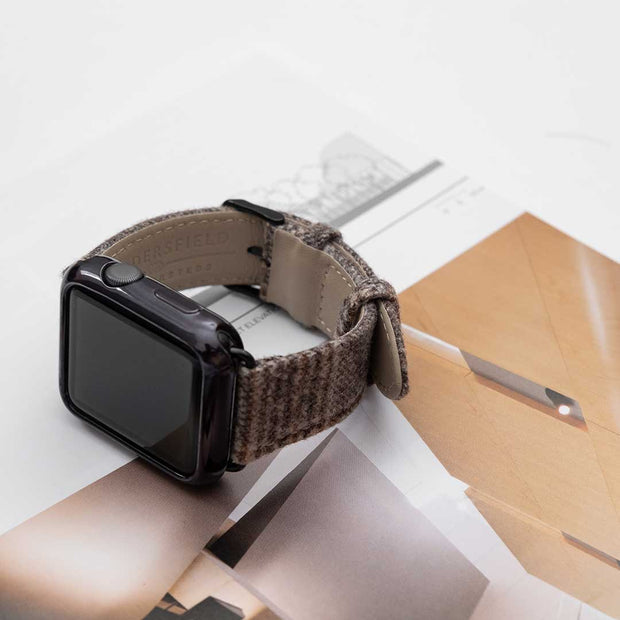 Apple Watch LIGHT BROWN GLENCHECK