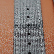 Apple Watch MEDIUM GREY solid weave effect