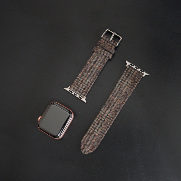Apple Watch BROWN PRINCE OF WALES CHECK