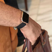 Apple Watch DARK BROWN SHARKSKIN