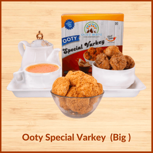 OotyMade Fresh Varkey - Big Size- Delicious Homemade Cookies