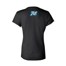Load image into Gallery viewer, Women's Visconti Motorsports Logo V-Neck Tee