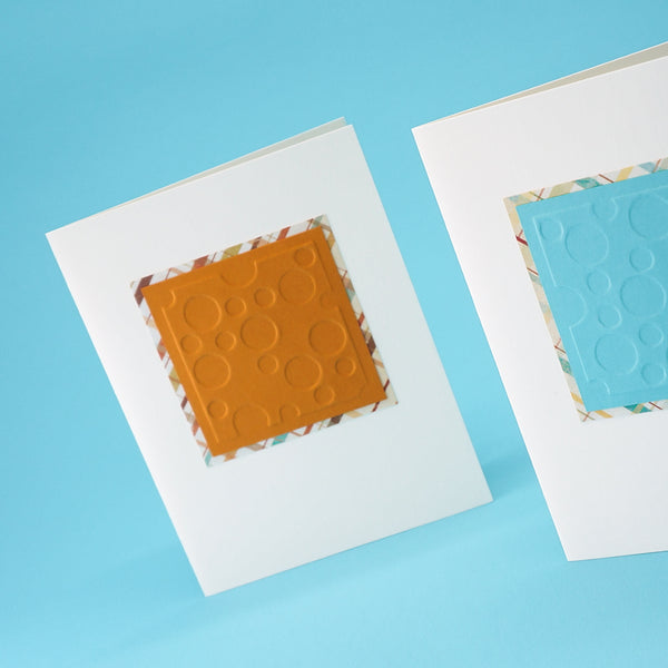 Embossed Dots Notecards