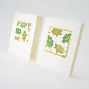 Holly Leaf Notecards