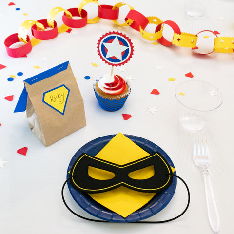 Superhero Birthday Party Box Set