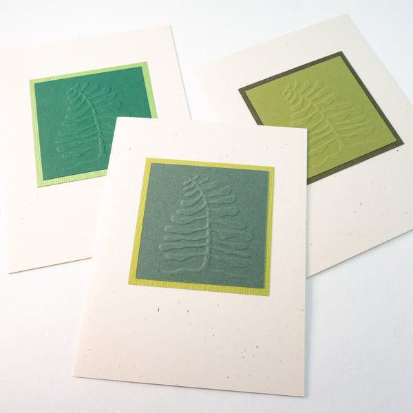 Embossed Evergreen Tree Notecards