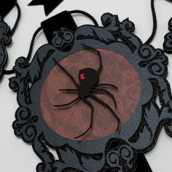 Spider Portraits Banner (2 foot)