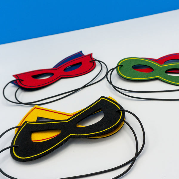 Handcrafted Superhero Masks
