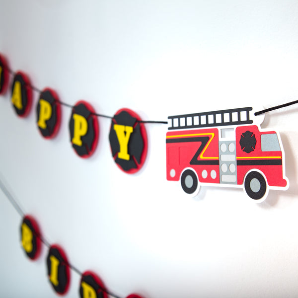 Firefighter Birthday Party Box Set