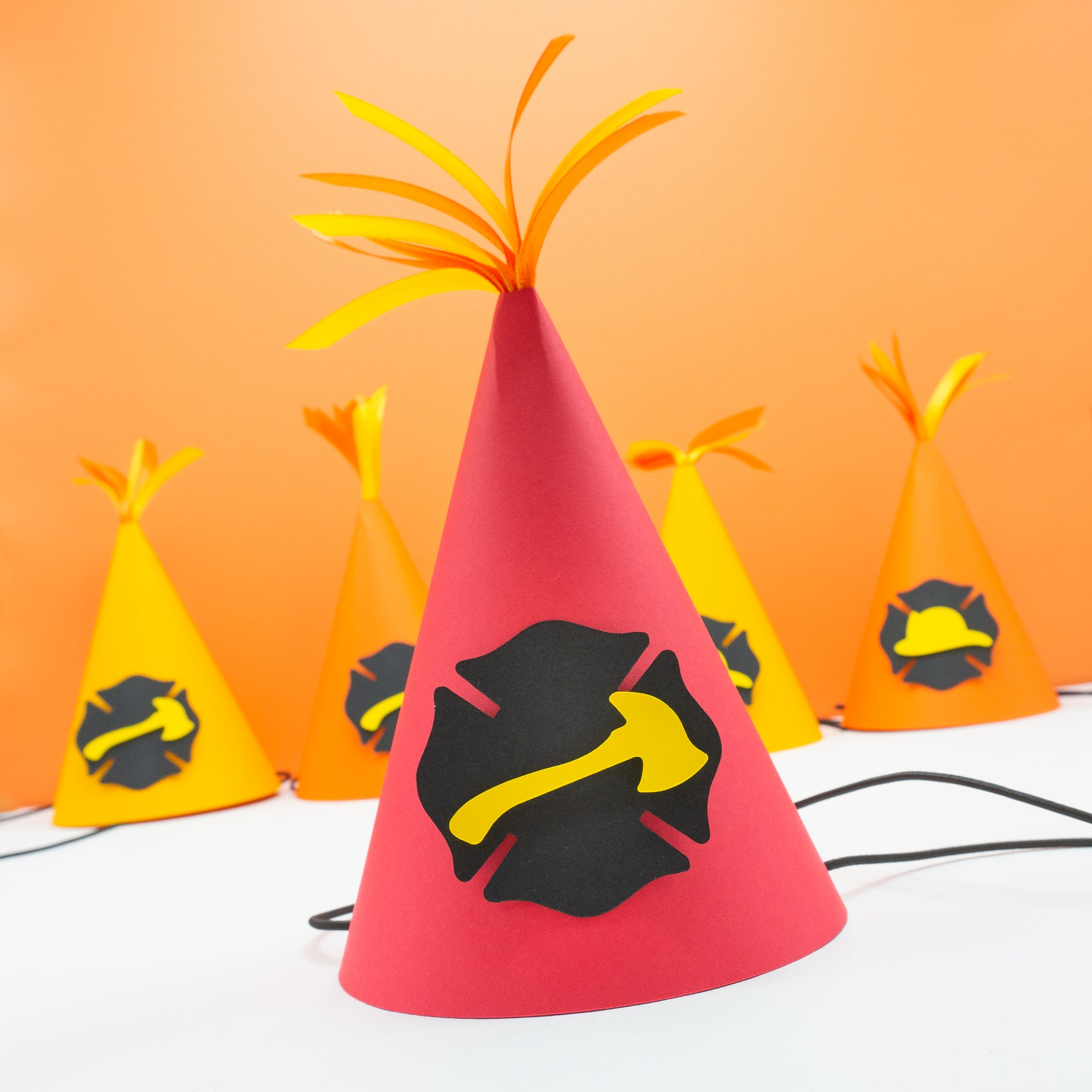Firefighter Party Hats