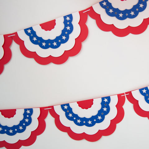 Patriotic Bunting Banners