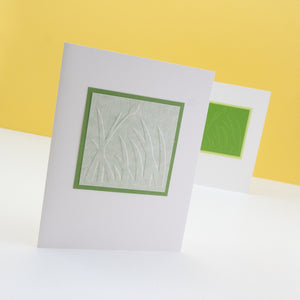 Embossed Spring Grass Notecards