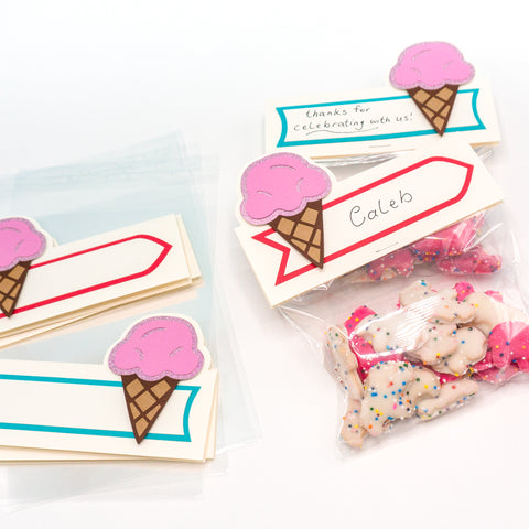 Ice Cream Party Favor Packaging