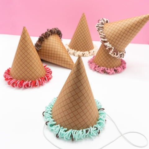 Ice Cream Cone Party Hats