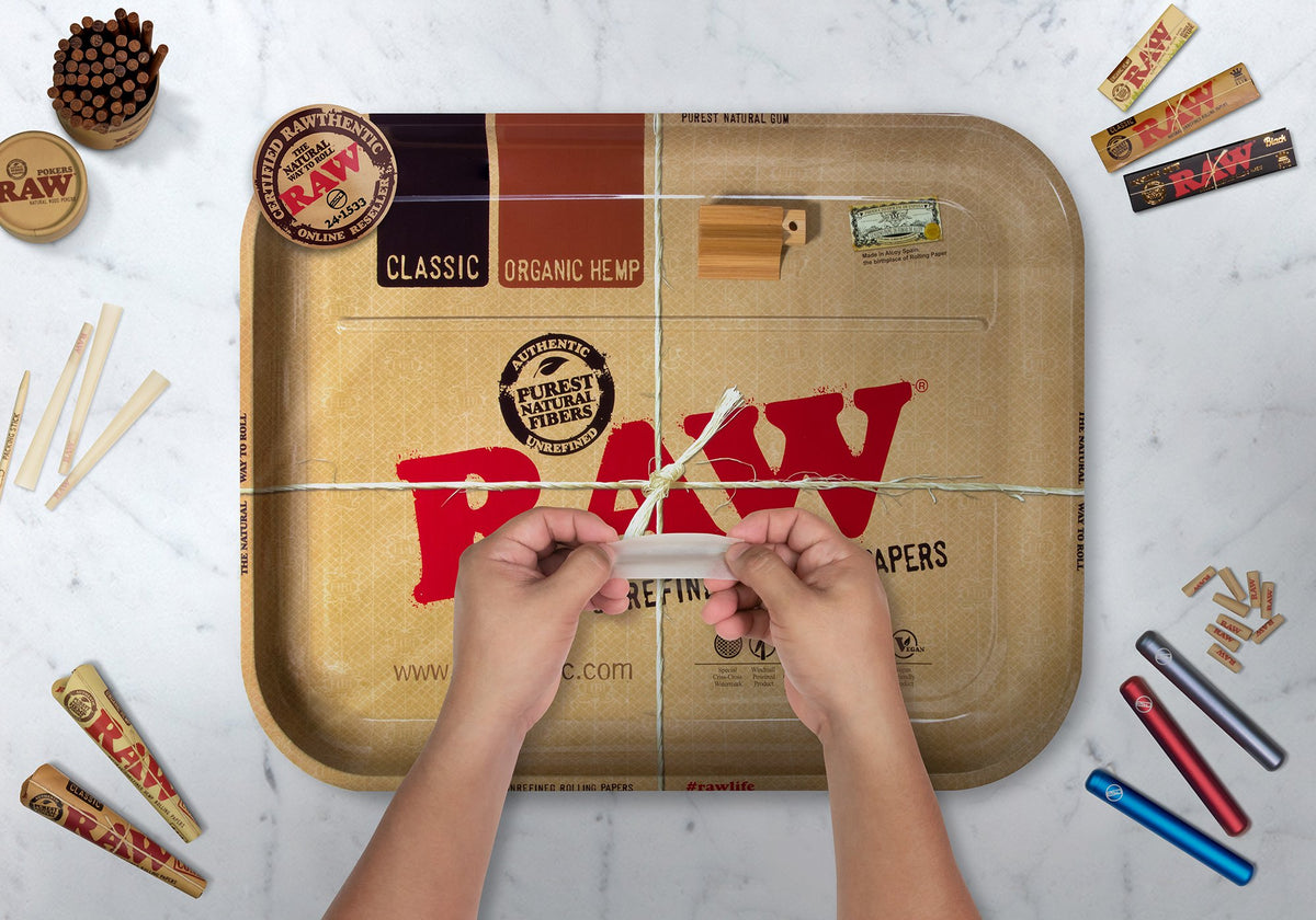 RAW Bean Bag XXL Lap Rolling Tray Rolling Trays WAR00132-MUSA01 esd-official