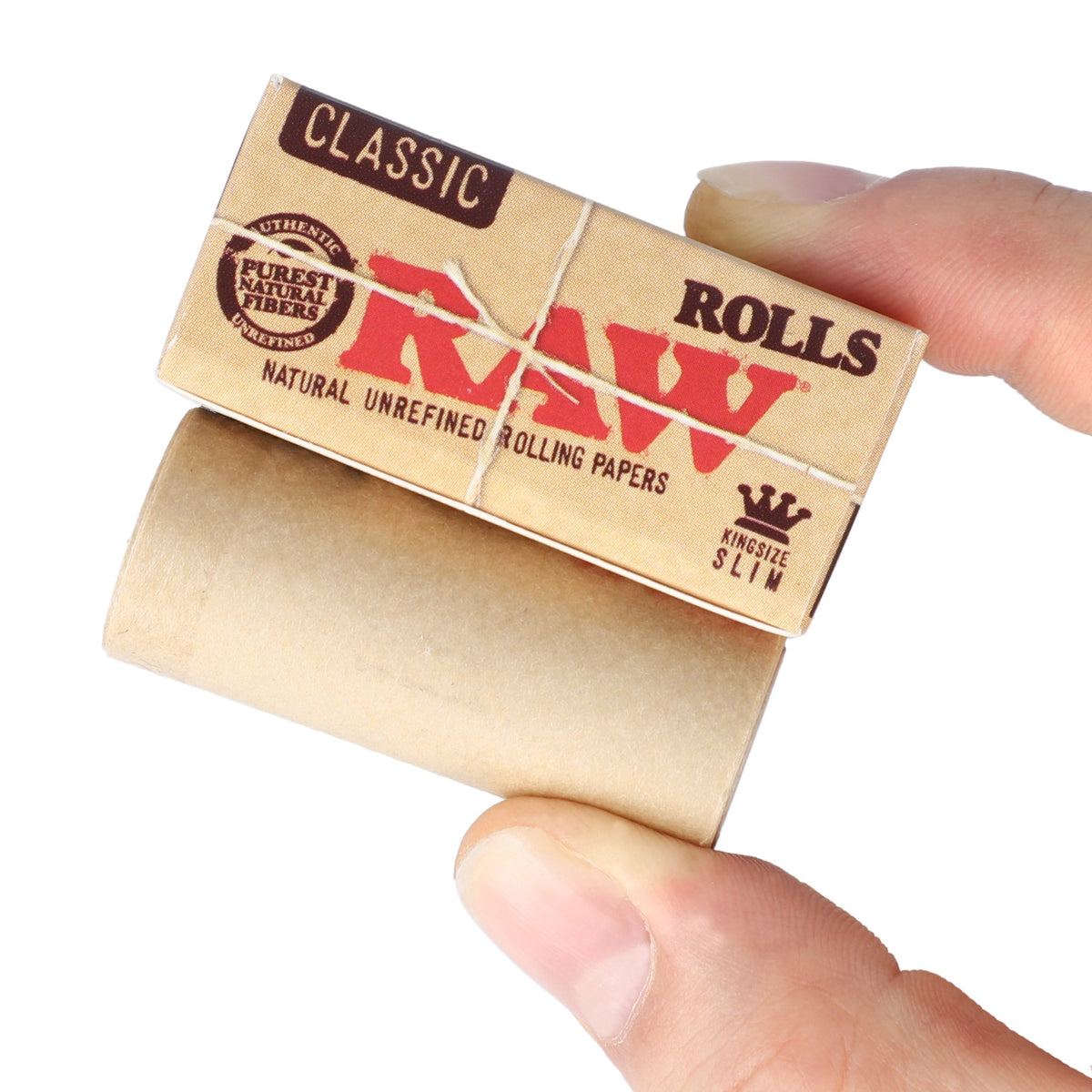 RAW Classic Paper Rolls King Size Slim - 5 Meters Rolling Papers WAR00344-1/24 esd-official