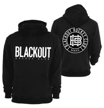 Load image into Gallery viewer, BLACKOUT BOLD HOODIE