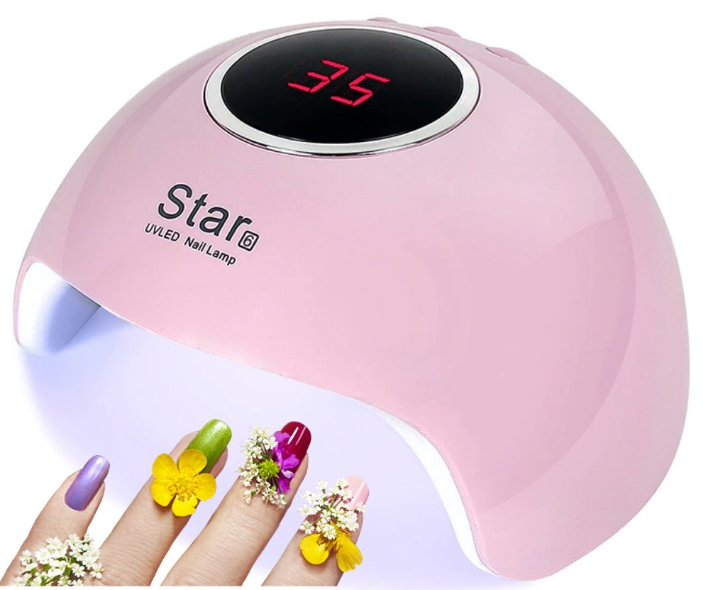 Gelcure™ Nail Dryer UV Lamp LED Light Gel Polish Curing Machine