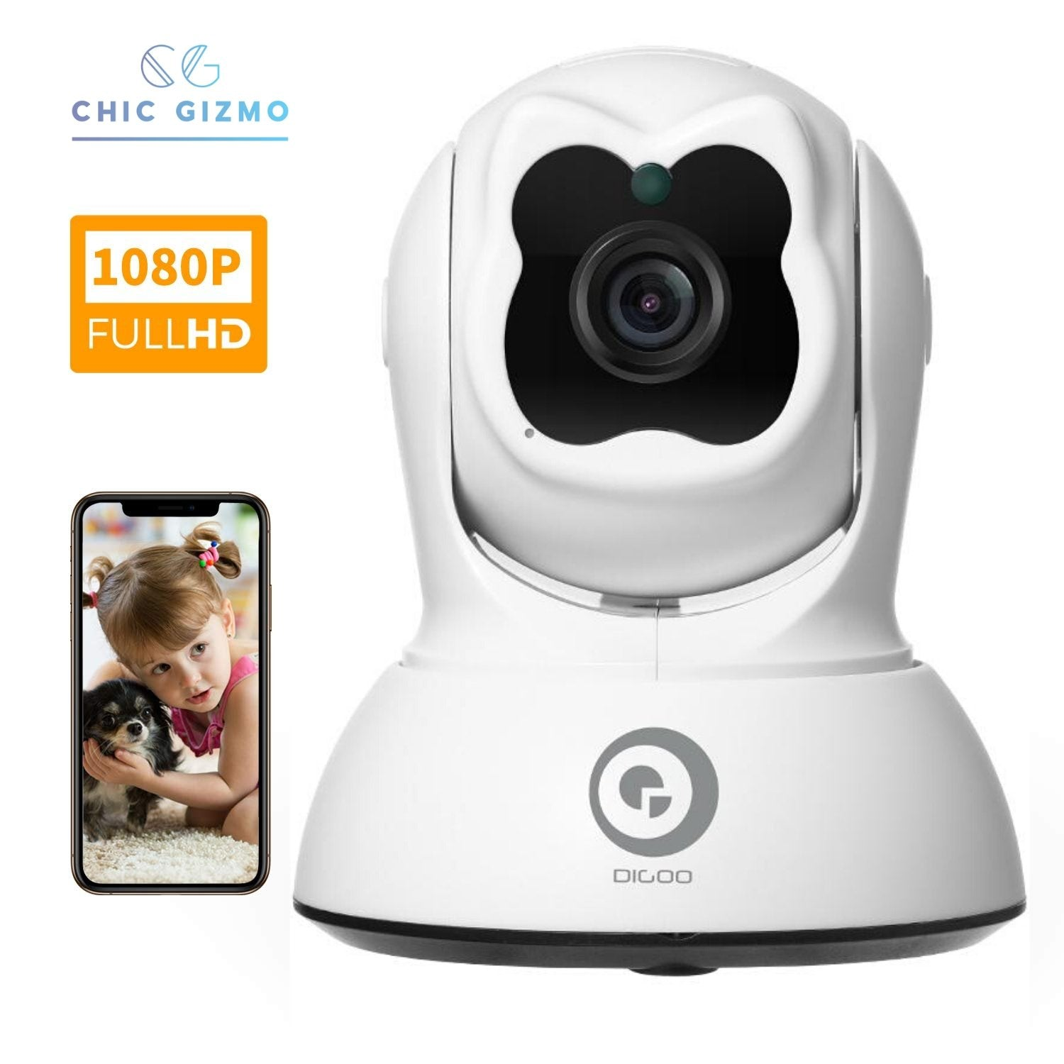 Home Security Camera & Audio Movement Detection - CHIC GIZMO
