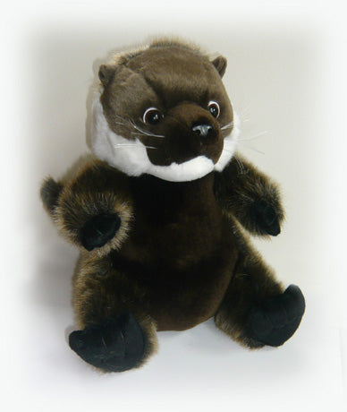 Plush, cuddly otter