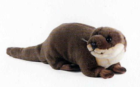Living Nature plush otter toy (30cm)