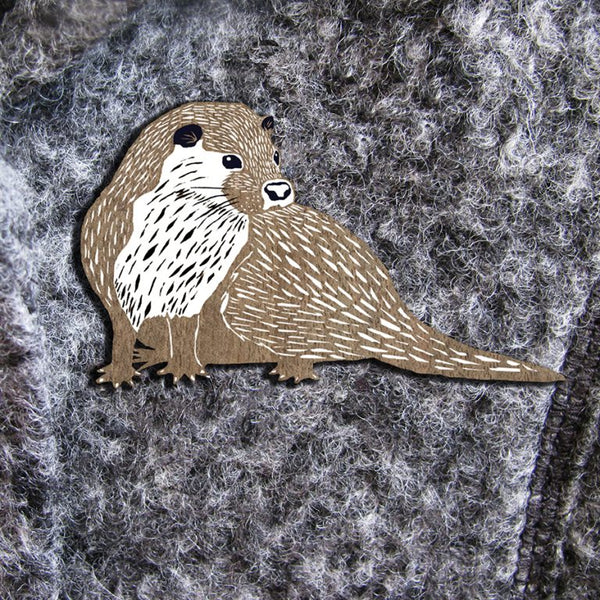 Otter Brooches (Perkins & Morley)