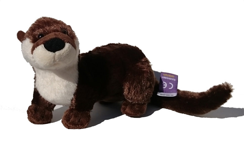 Cute plush otter
