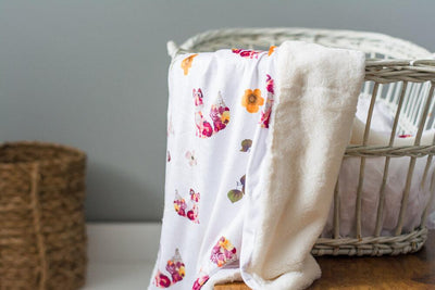 Forest Fox Baby Blankets